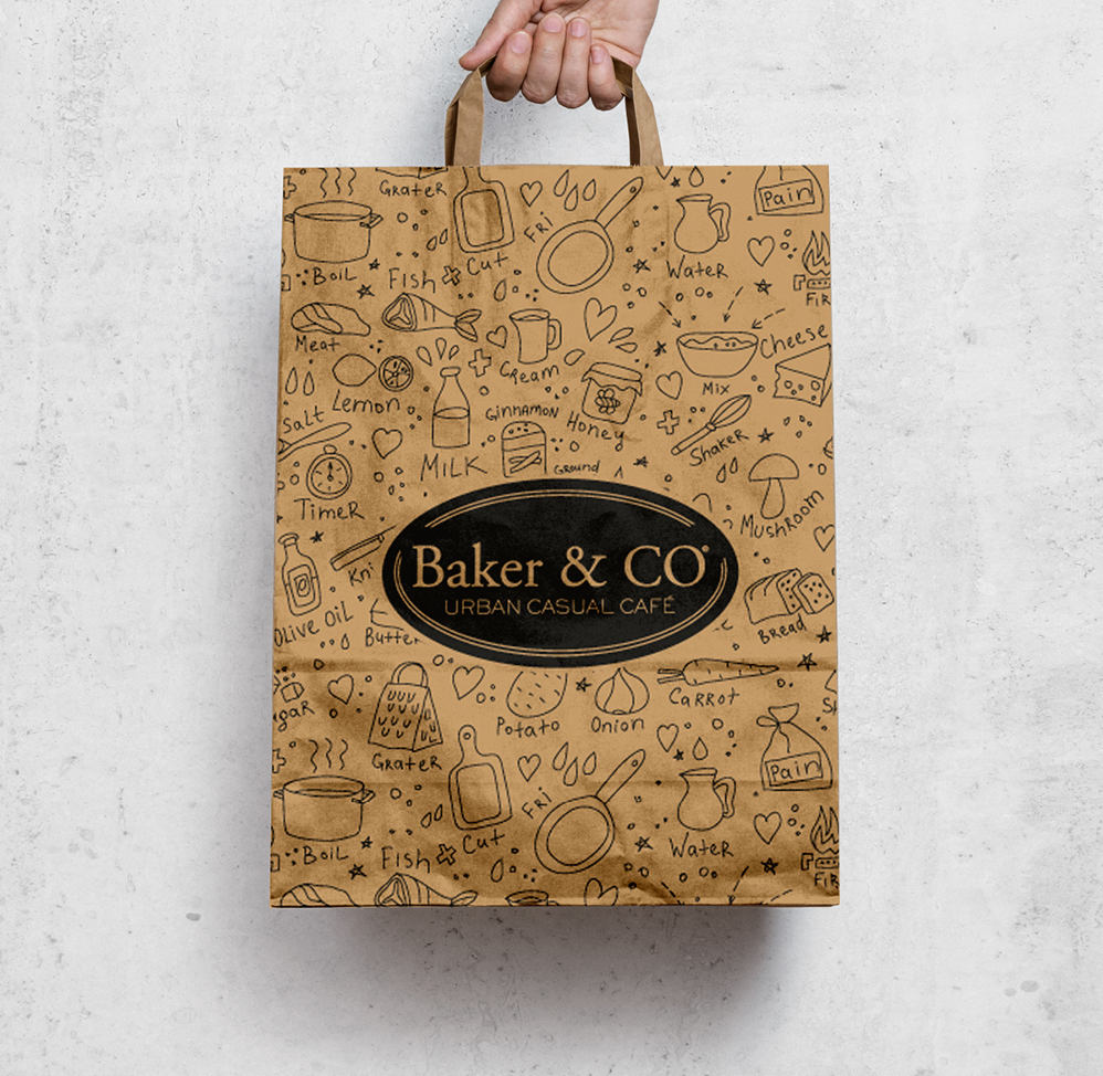 Paula Alenda - Identidad Corporativa - Baker & Co. Alicante